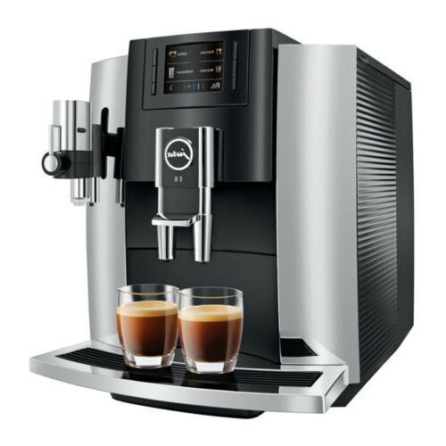 Jura E8 15271 Espresso Machine with Glass