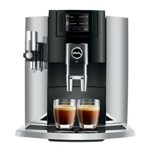 Jura E8 Espresso with Glass