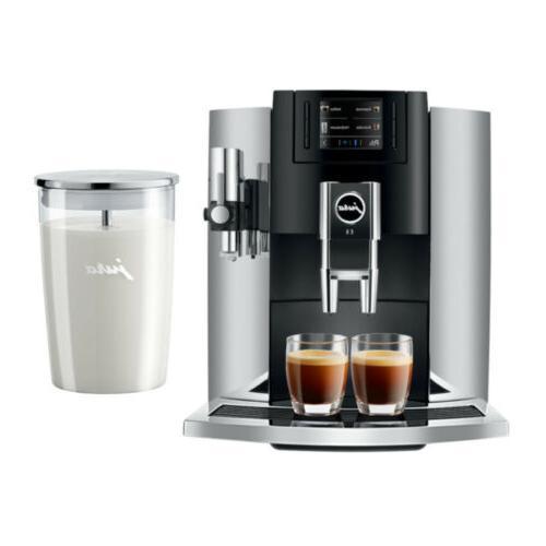 e8 15271 smart espresso coffee machine chrome