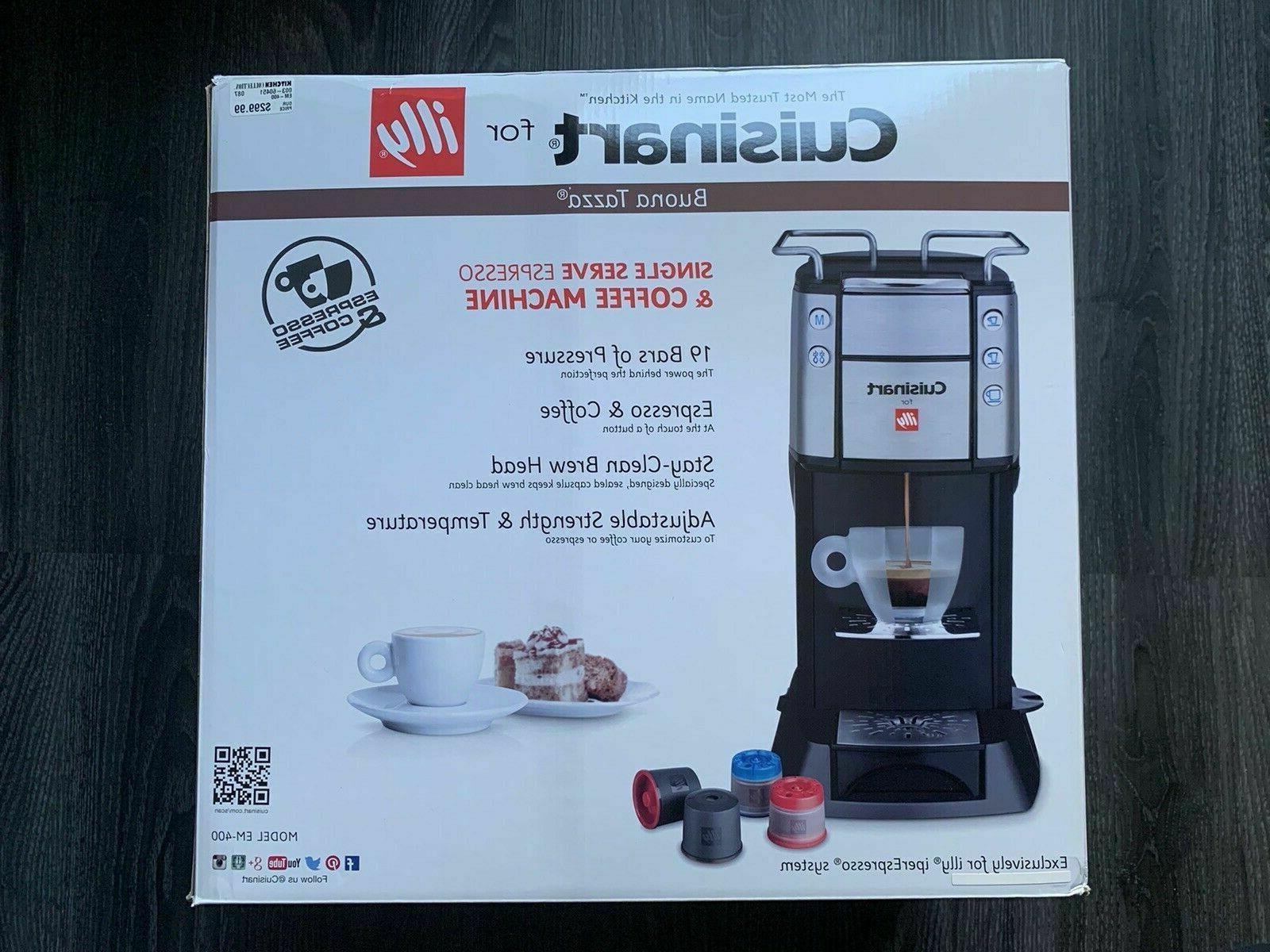 Cuisinart EM-400NC Single Coffee