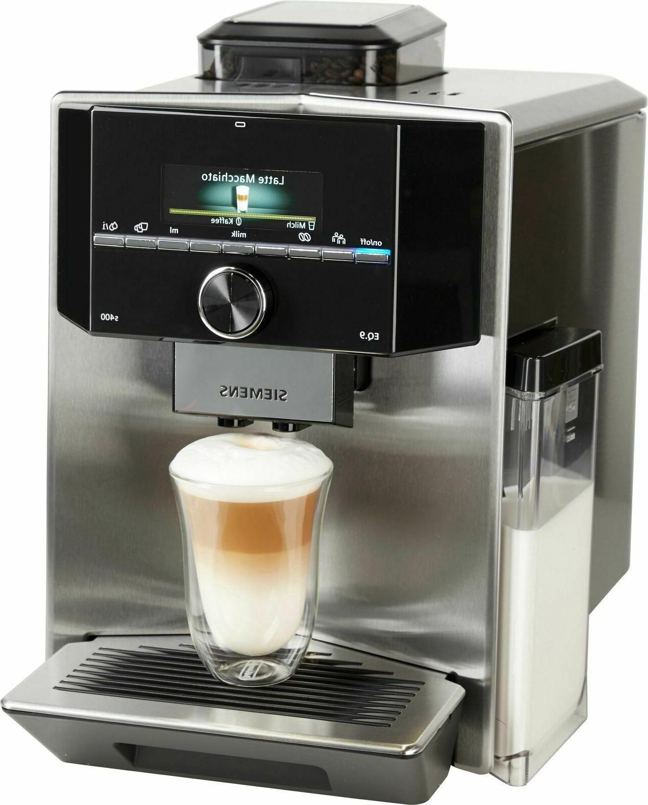 eq 9 s400 ti924501de espresso coffee machine