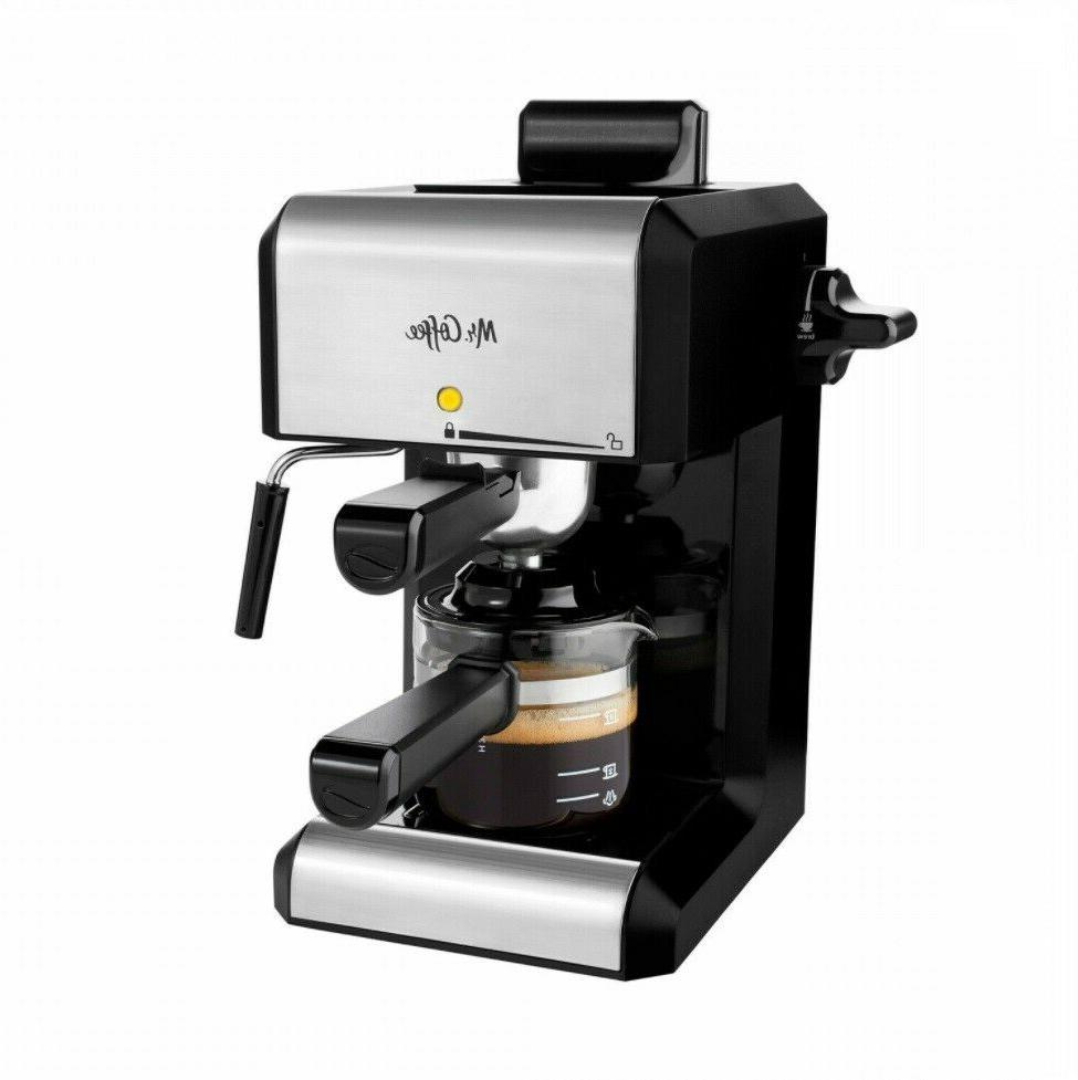 Espresso Coffee Maker Cafe Home Bar Automatic Machine Cappuc