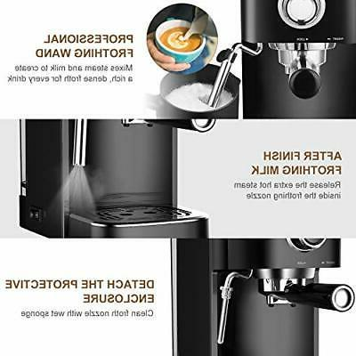 Espresso Coffee Machine With