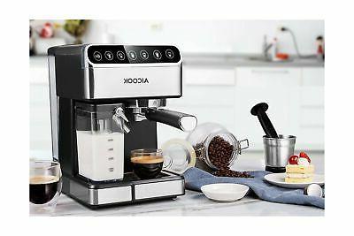 Aicook Espresso Machine, Barista Espresso Coffee Maker One Touch