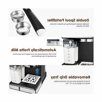 Aicook Espresso Machine, Espresso Coffee One Digital...