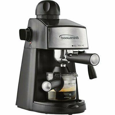 espresso machine cappuccino coffee maker barista stainless