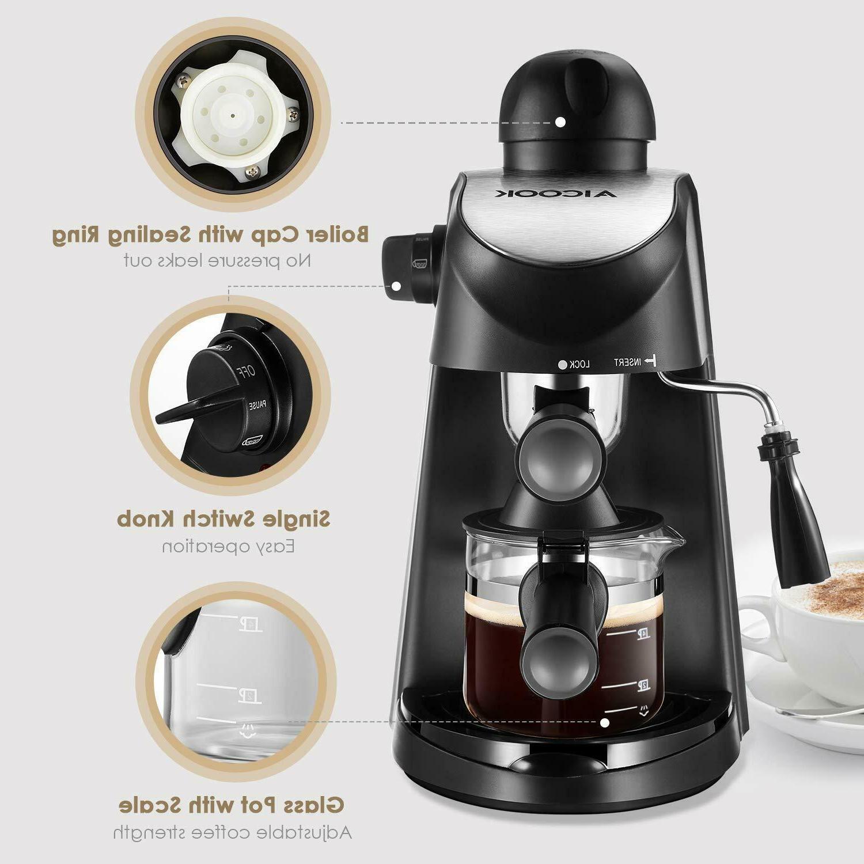 Home Espresso Machine Expresso Steam Frothing