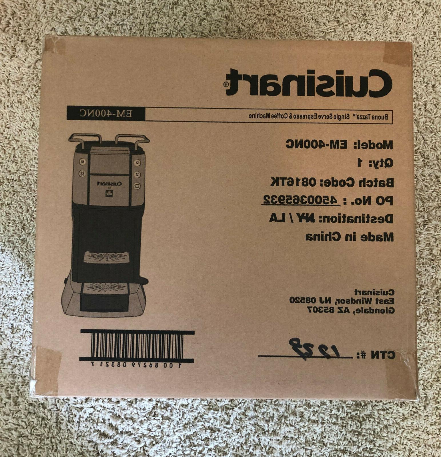 factory sealed brand new em 400 espresso