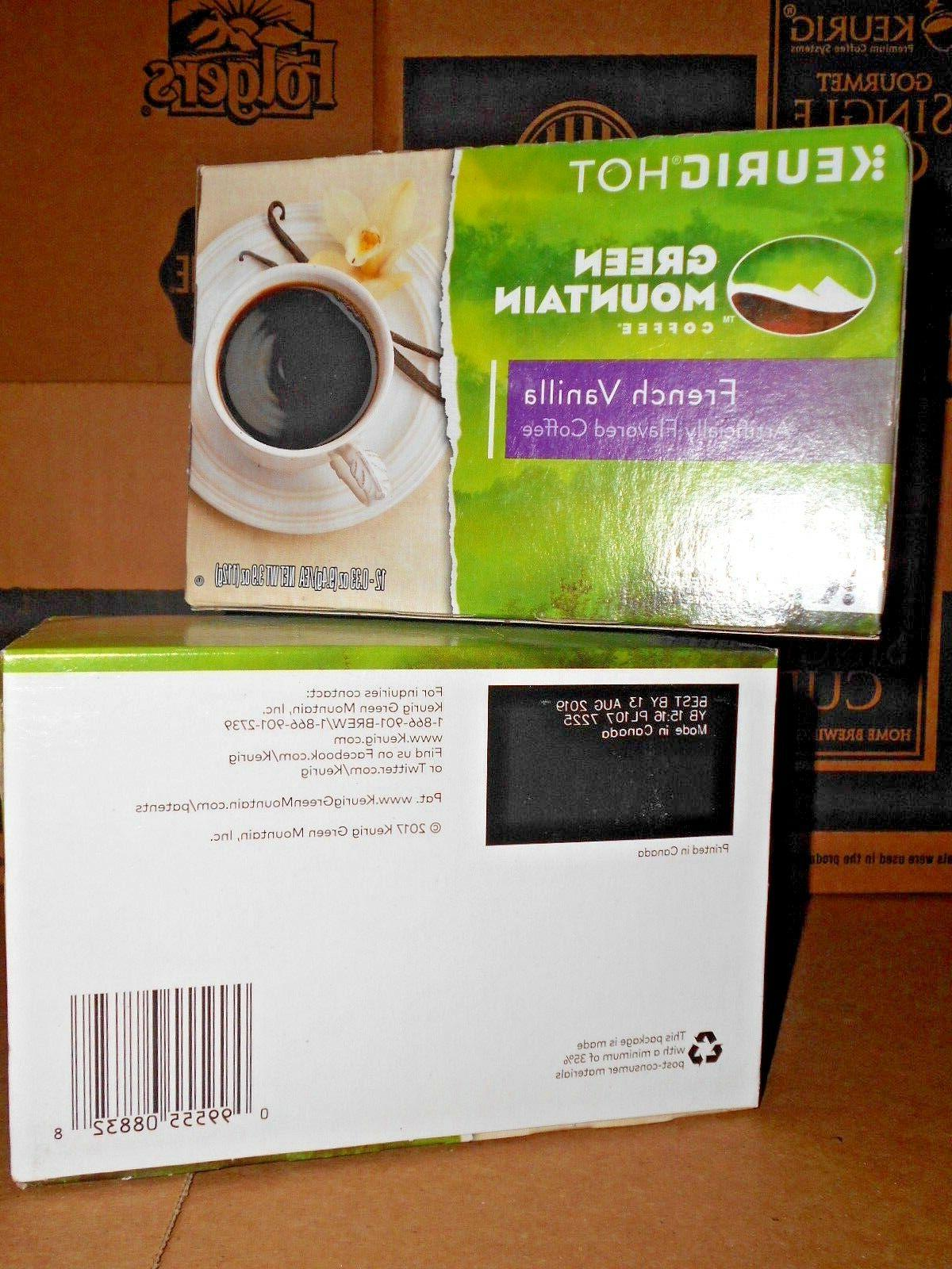 FRENCH Green Mountain Coffee Keurig K-Cup KCUPS