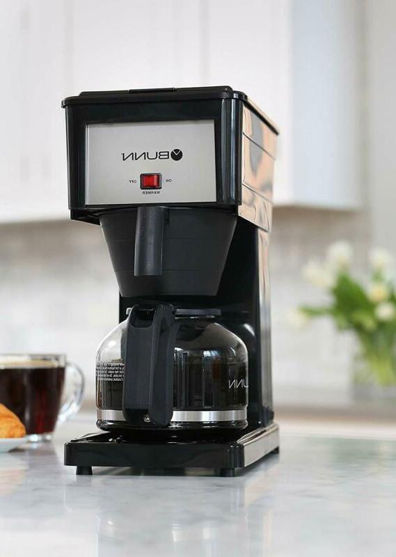Bunn Grb 10-Cup Coffee Brewer, Black