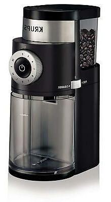 KRUPS GX5000 Burr Coffee Grinder, Electric Coffee Grinder wi