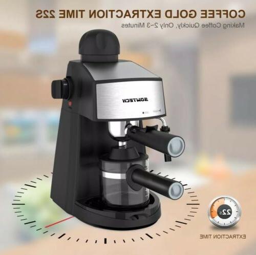 HOME ESPRESSO Milk Cup Cappuccino Latte Coffee Maker