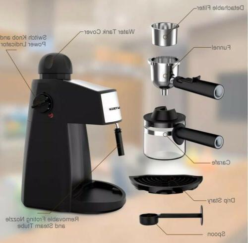 HOME Milk Cup Cappuccino Maker
