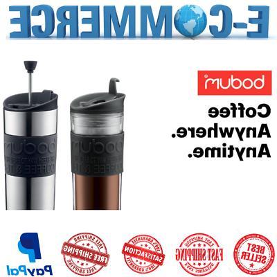 Bodum Insulated Press Coffee and Tea Mug Plastic & Stainless