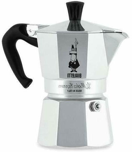 Italian Stovetop Espresso Coffee Machine Moka 1 Cup Pot Bial