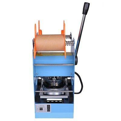 Manual 270W Cup Sealer Sealing Machine Coffee Boba Bubble Tea Cups/hr
