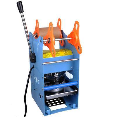 manual 270w cup sealer sealing machine coffee