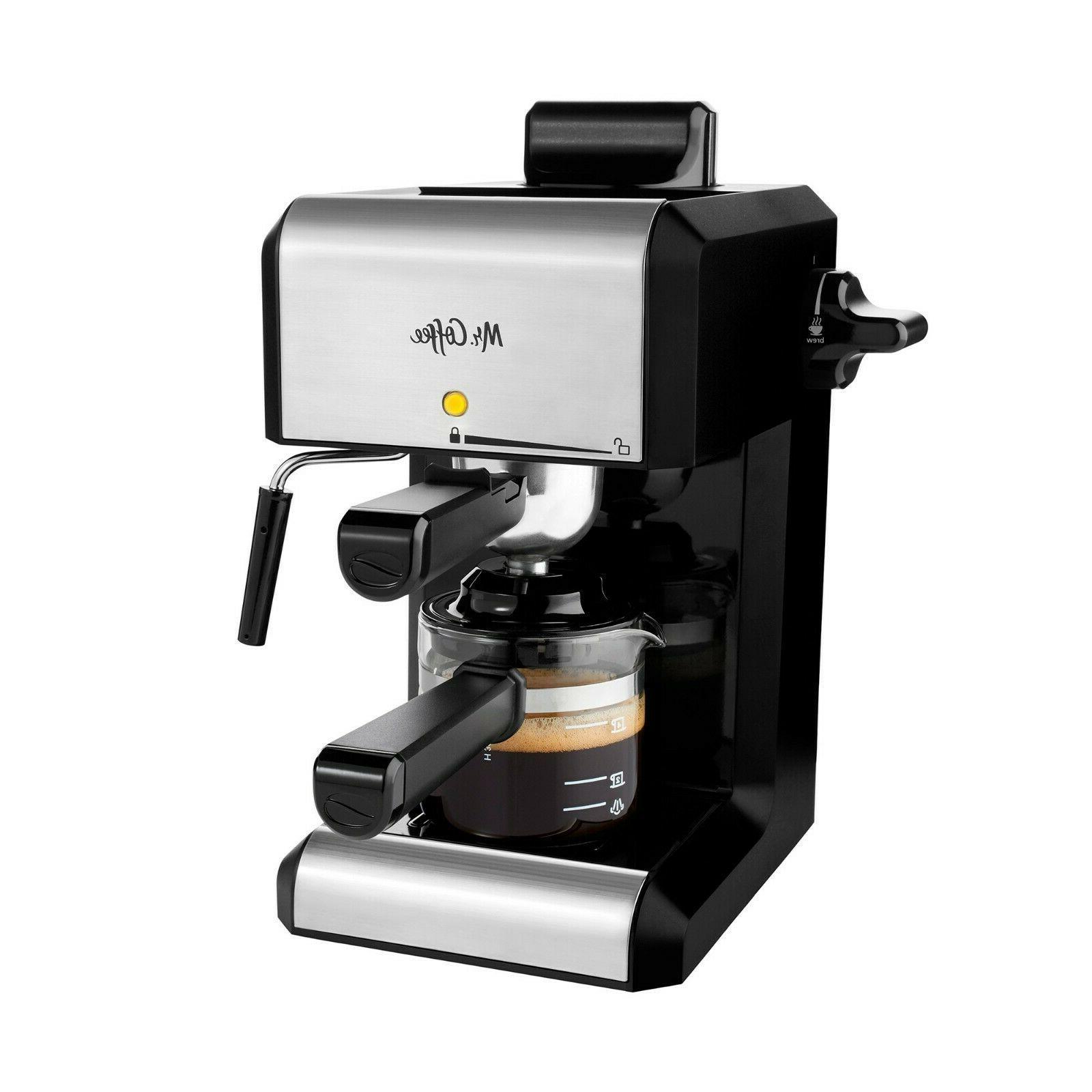 Mr. Coffee Caf 20-Ounce Steam Automatic Espresso and Cappucc
