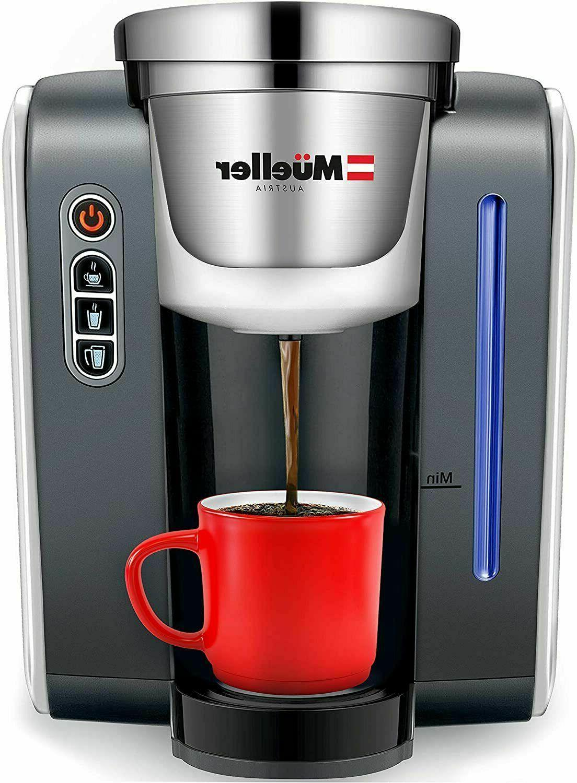 mueller single serve k pod compatible coffee