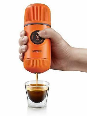 Wacaco Orange Portable Espresso Machine Maker Outdoor