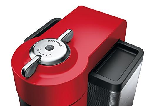Nespresso Vertuo and Machine De'Longhi, Red