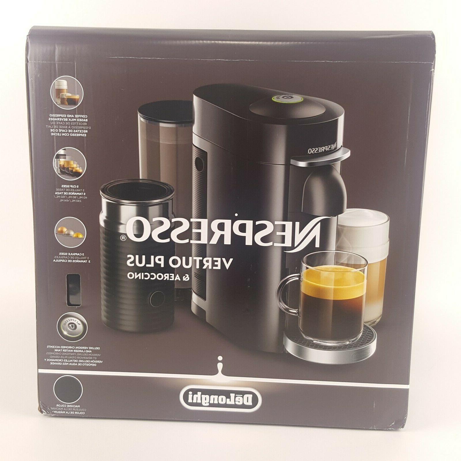 Nespresso Vertuo Plus Coffee and Espresso with Black