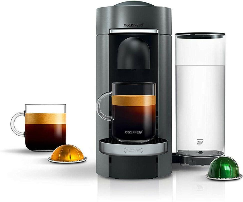 nespresso vertuoplus deluxe coffee and espresso machine
