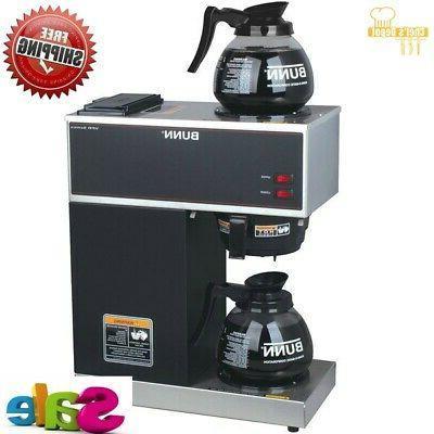 new commercial coffee maker brewer electric 12