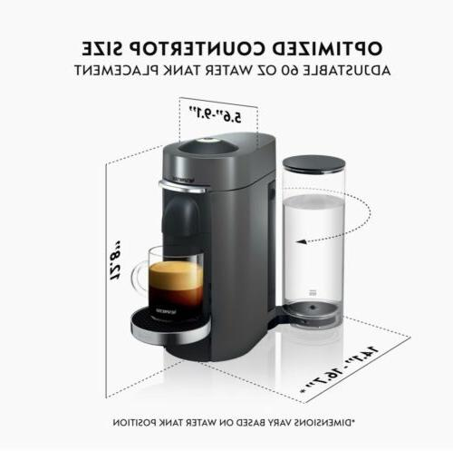 NEW Nespresso VertuoPlus Coffee and Espresso by