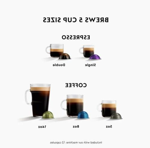 NEW Nespresso VertuoPlus Coffee by De'Longhi, Titan