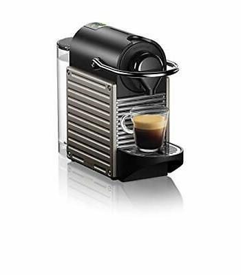 pixie coffee and espresso machine titan black