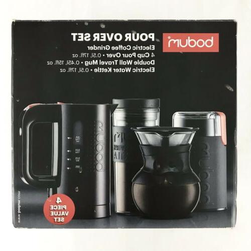 Bodum Pour Coffee Electric Grinder Electric Water