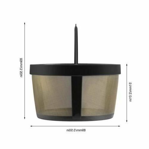Goldtone Reusable Basket Coffee Permanent