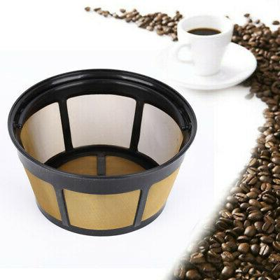 reusable 8 12 cup basket coffee filters