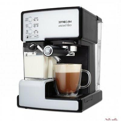 Semi Automatic Espresso Cappuccino Coffee Maker Latte Kitchen Appliances