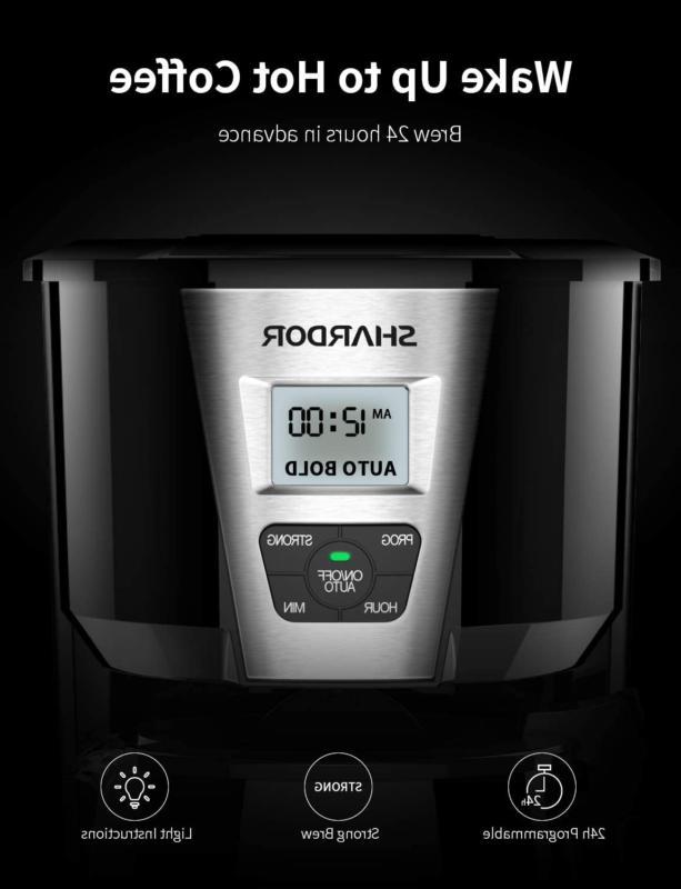 SHARDOR Drip 12-15 Brew Coffee Machine