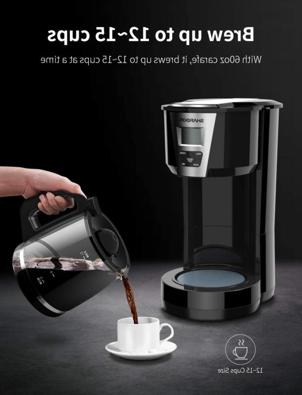 SHARDOR Coffee 12-15 Programmable Coffee Machine 3.0