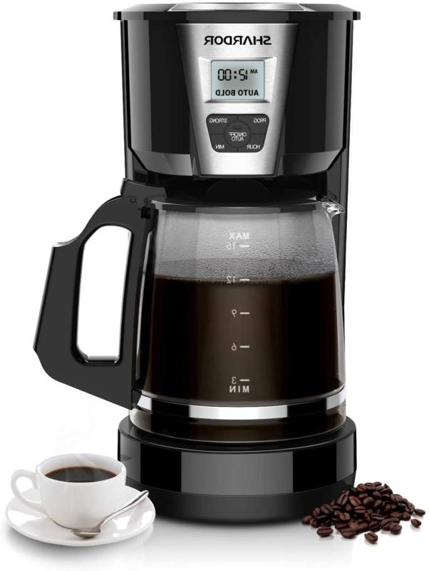 shardor drip coffee maker 12 15 cup