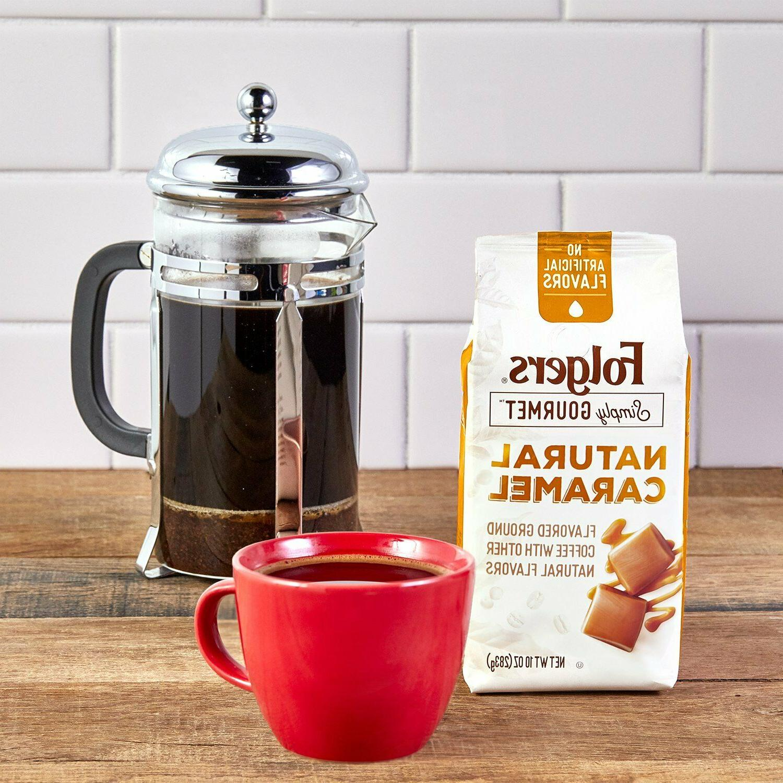 Folgers Simply Gourmet Ground Coffee, Oz