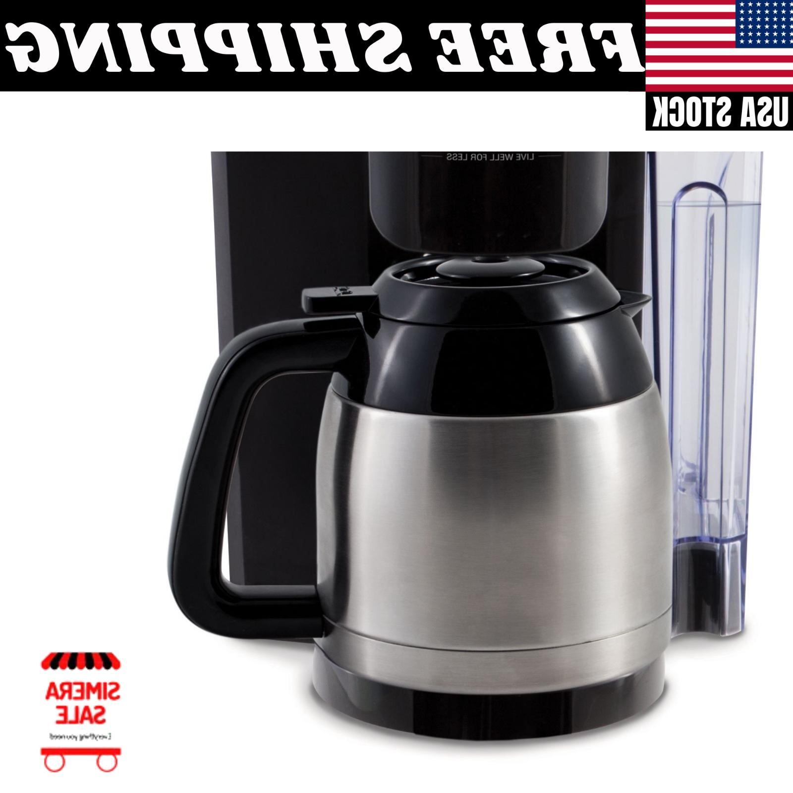 Single Serve/Full Pot Coffee Maker Brewer System Home