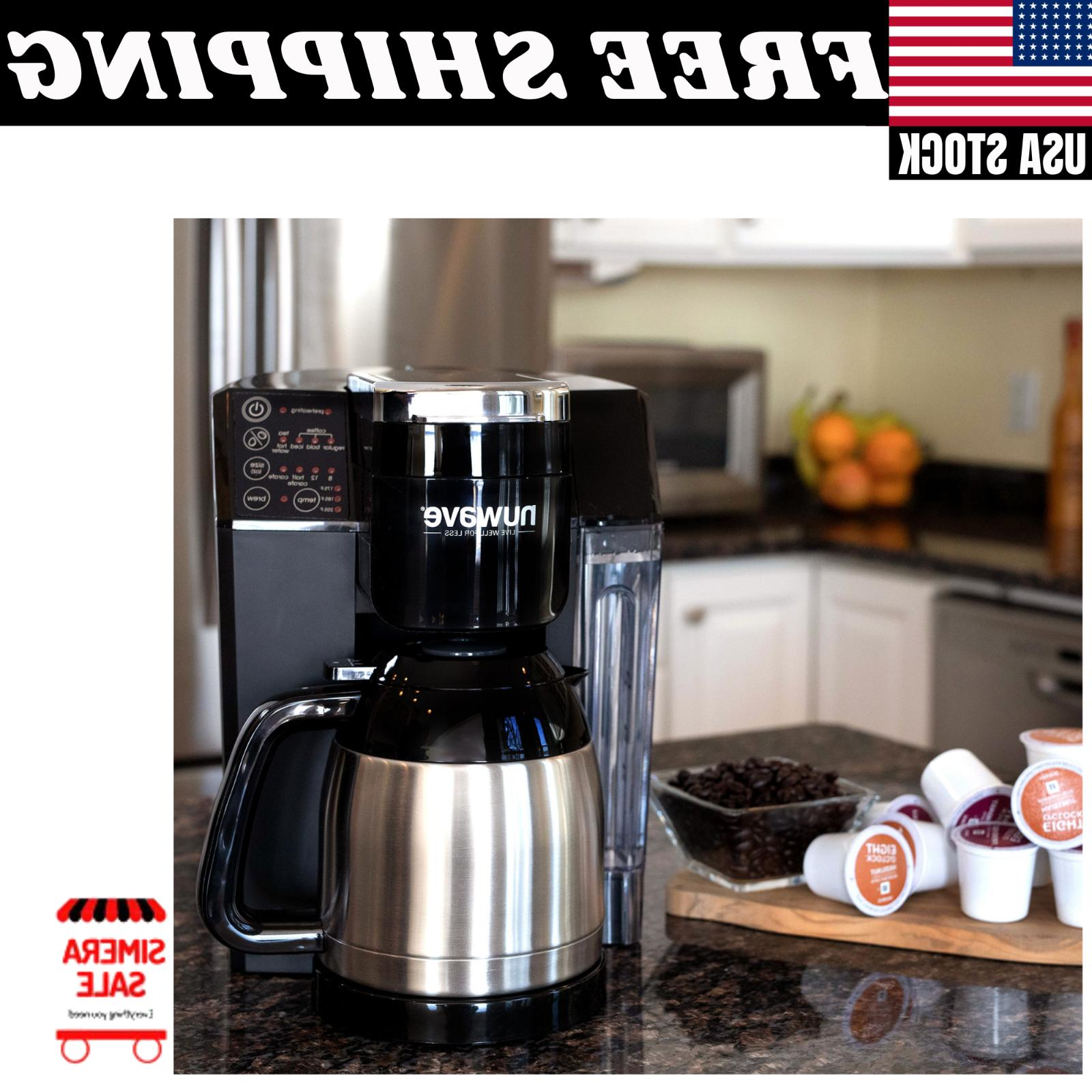 Single Coffee Maker Machine System Home Kitchen