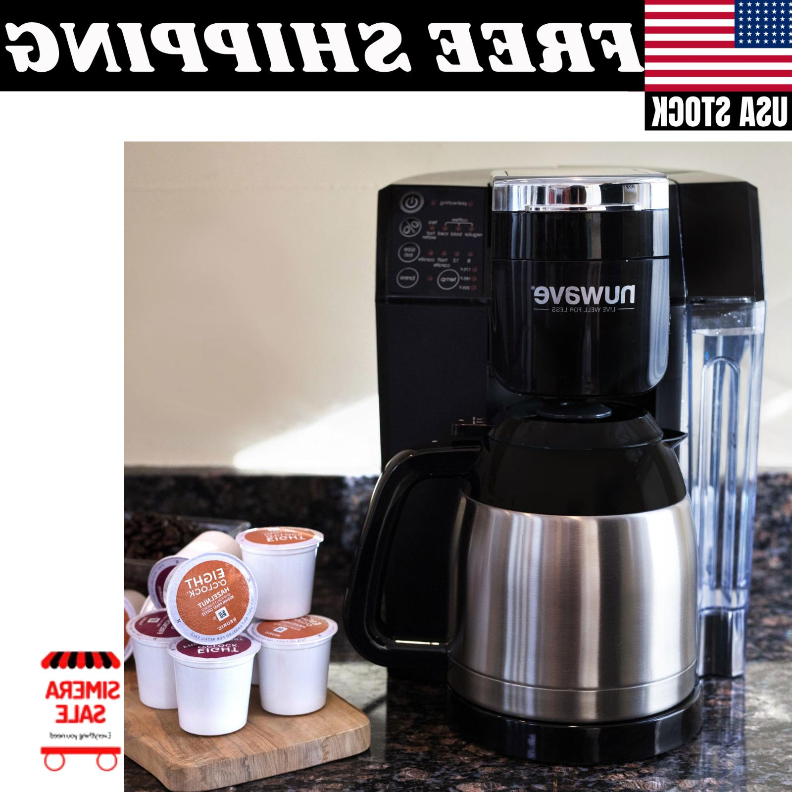 Single Serve/Full Coffee System Home Kitchen