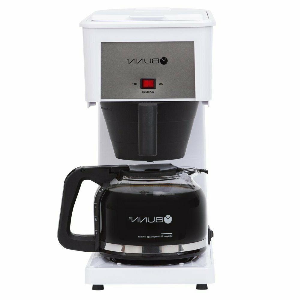 BUNN® Speed Brew® Classic Coffee Maker, model GR White