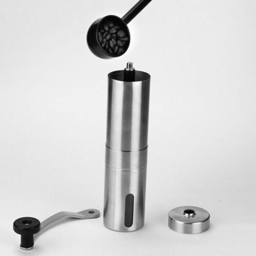 Stainless Steel Manual Coffee Grinder Mill
