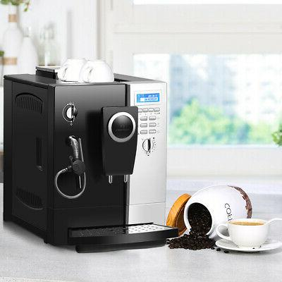 Super-Automatic Espresso Cappuccino Coffee Maker w/