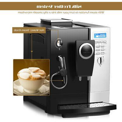 Super-Automatic Espresso Machine Cappuccino Coffee Maker 19