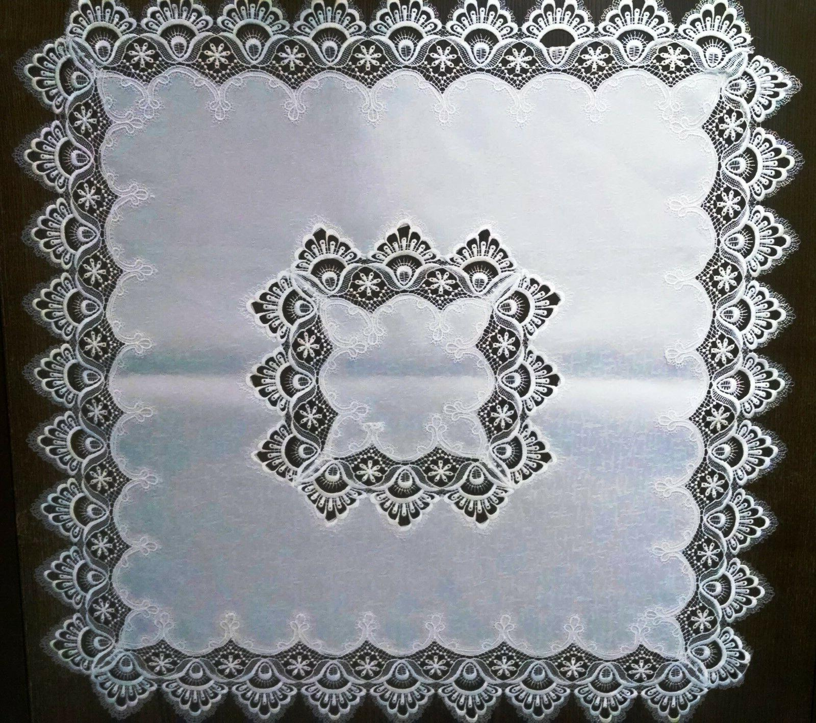 Doily Boutique Runner or White Fabric