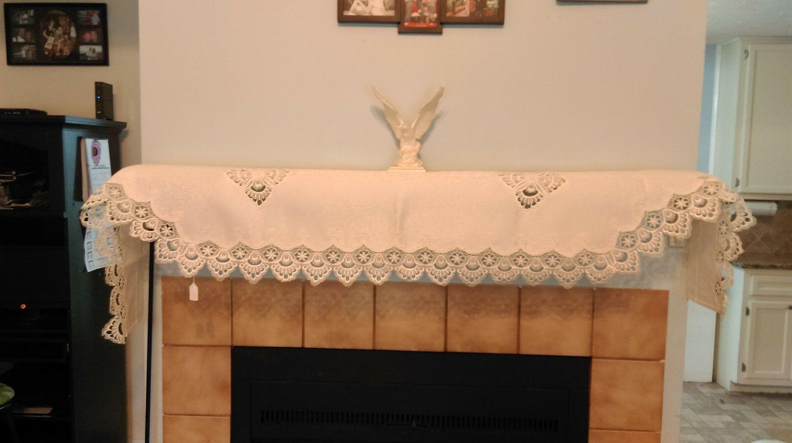 Doily Table or Antique White