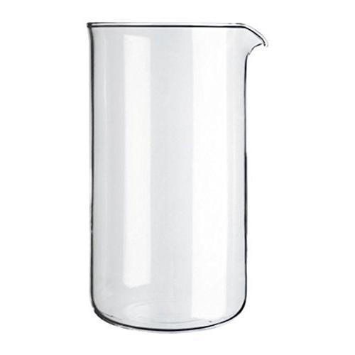 transparent glass spare coffee maker