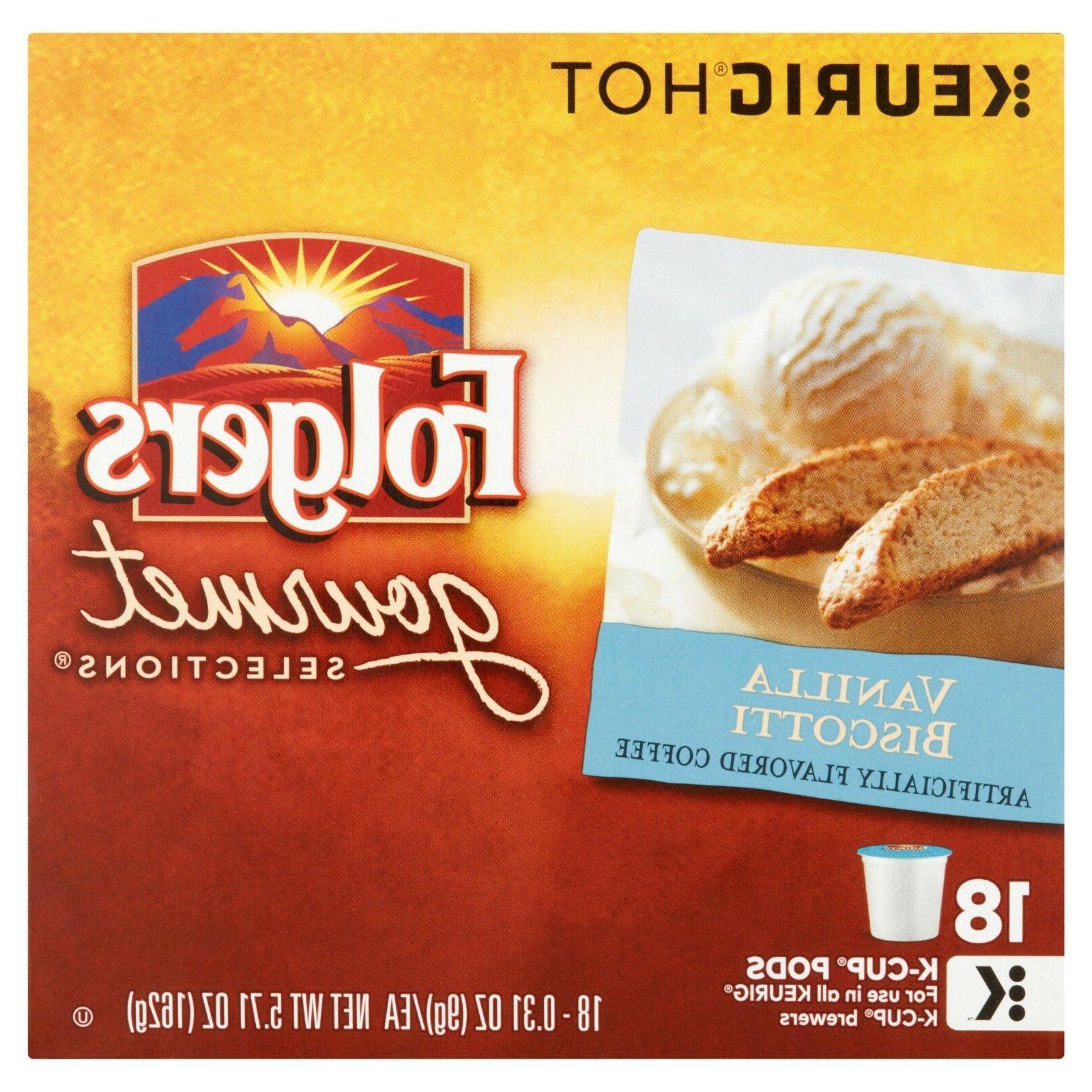 vanilla biscotti coffee 18 to 90 keurig